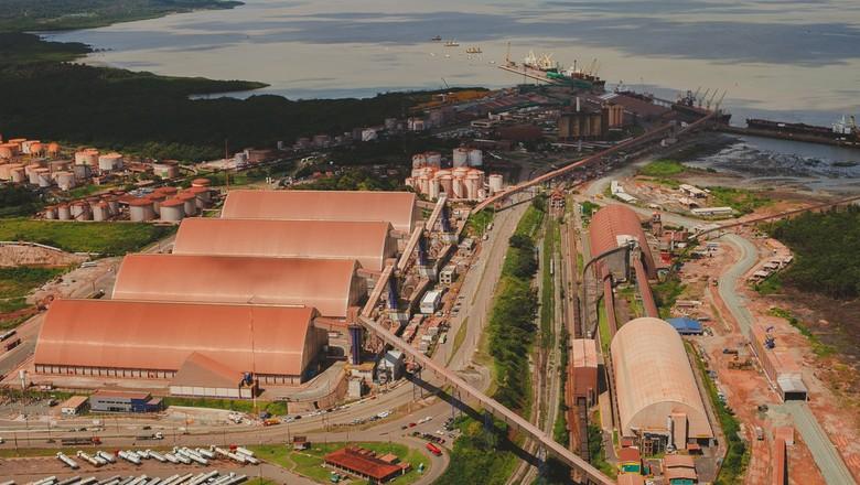 Terminal de Grão do Maranhão (TEGRAM) (Foto: Divulgação)