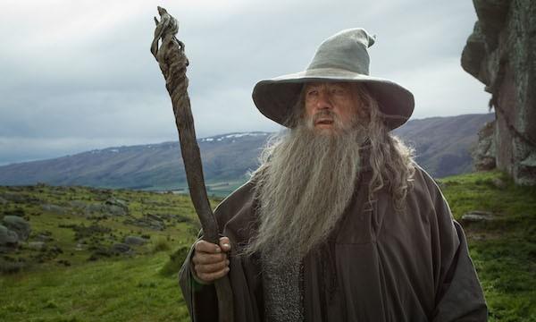 O ator Ian McKellen como Gandalf em O Senhor dos Anéis (Foto: Reprodução)
