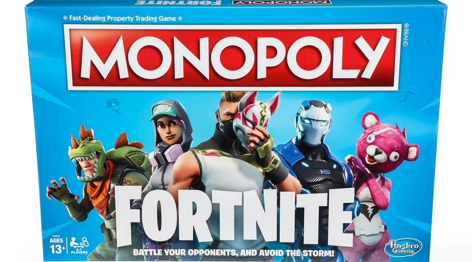 Monopoly; Fortnite chega ao mercado no Natal deste ano (Foto: Divulgação)
