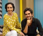 Vera Barroso e Bruno Barros no 'Sem censura', da TV Brasil | Divulgação