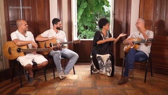 Juliana Ribeiro, Roberto Mendes, João Mendes e Gustavo Caribé falam de inovações do samba