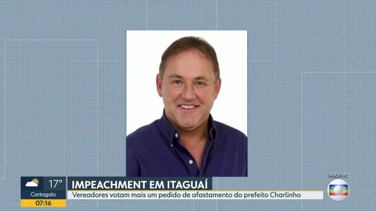 Vereadores votam mais um pedido de impeachment contra o prefeito de Itaguaí