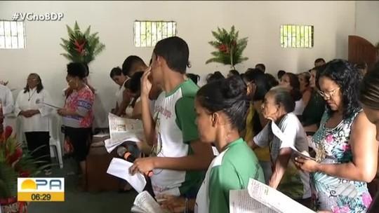 Procissão de São Sebastião leva centenas de fiéis às ruas de São Caetano de Odivelas
