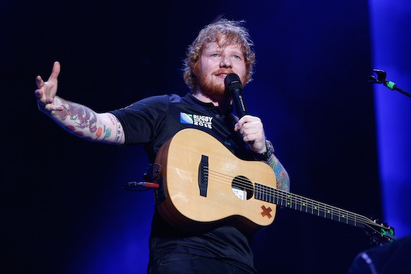 O cantor Ed Sheeran (Foto: Getty Images)