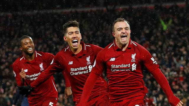 Liverpool massacra United e se mantém na liderança do Inglês 9519dd93eaf24