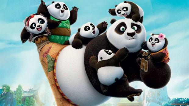 Kung Fu Panda 3: para debater a superação, a valorização pessoal e o conceito de família. (Foto: Divulgação)