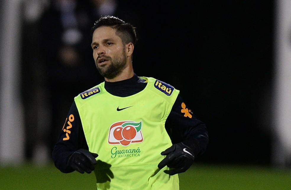 Diego não jogou pela Seleção nesses amistosos (Foto: Pedro Martins / MoWA Press)