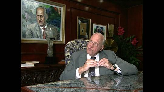 Ex-presidente da Fifa João Havelange morre aos 100 anos
