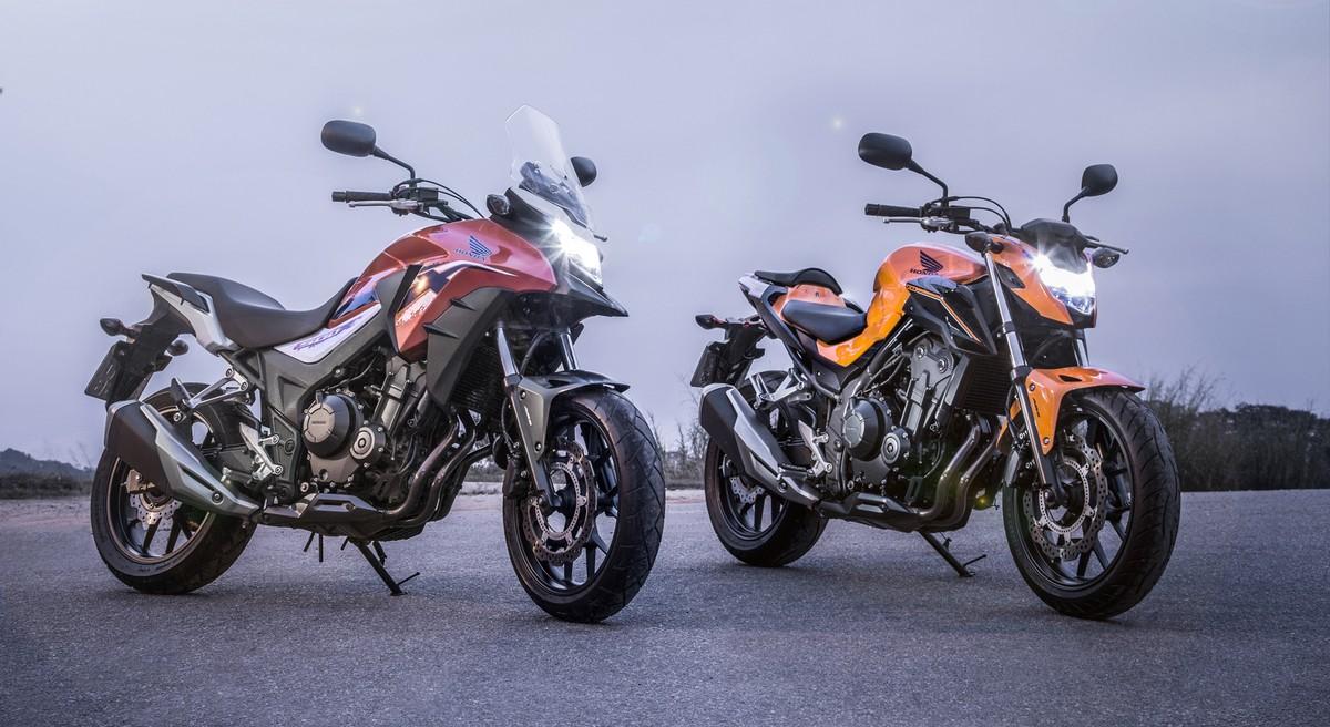 honda cb 500x e cb 500f 2019 ganham nova cor laranja motos g1. Black Bedroom Furniture Sets. Home Design Ideas