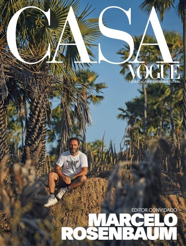 Casa Vogue de setembro tem Marcelo Rosenbaum como editor convidado (Foto:  )