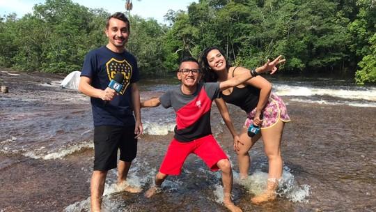 'Zapp' deste sábado (18) tem aventura na Cachoeira do Mutum
