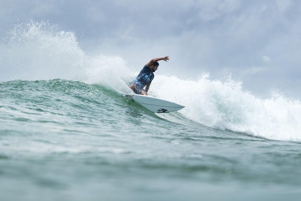 Michael Rodrigues, quinto na Gold Coast, espera repetir performance em Victoria (Foto: @WSL/Ed Sloane)