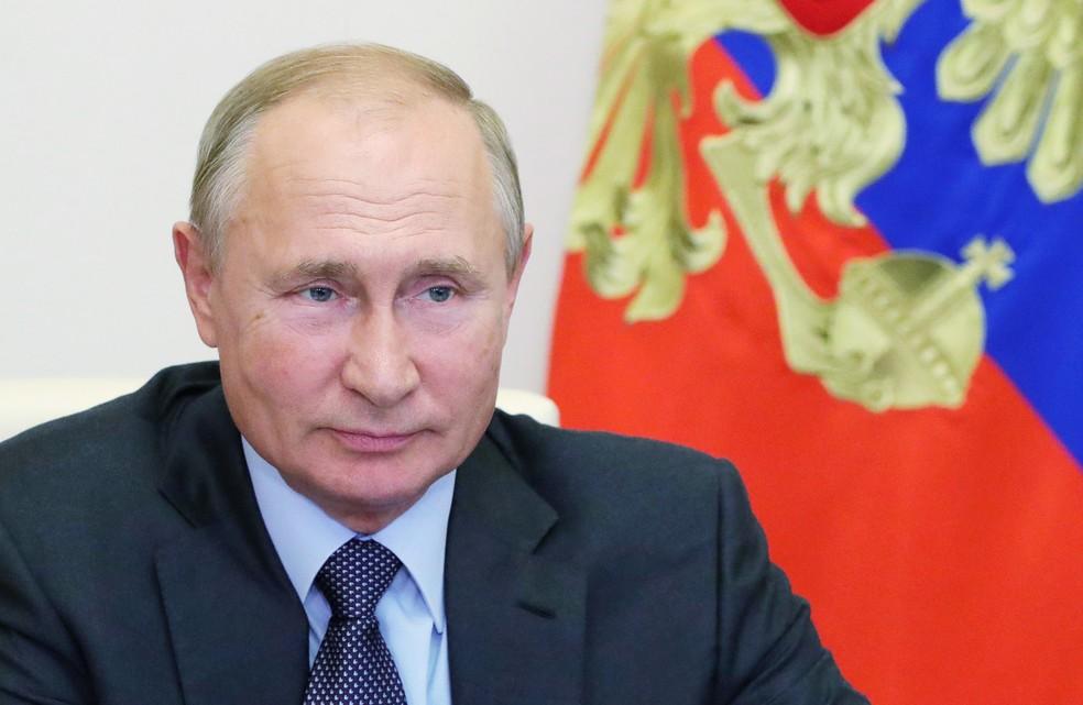 O presidente russo Vladmir Putin, em imagem de setembro  — Foto: Sputnik/Mikhail Klimentyev/Kremlin via Reuters