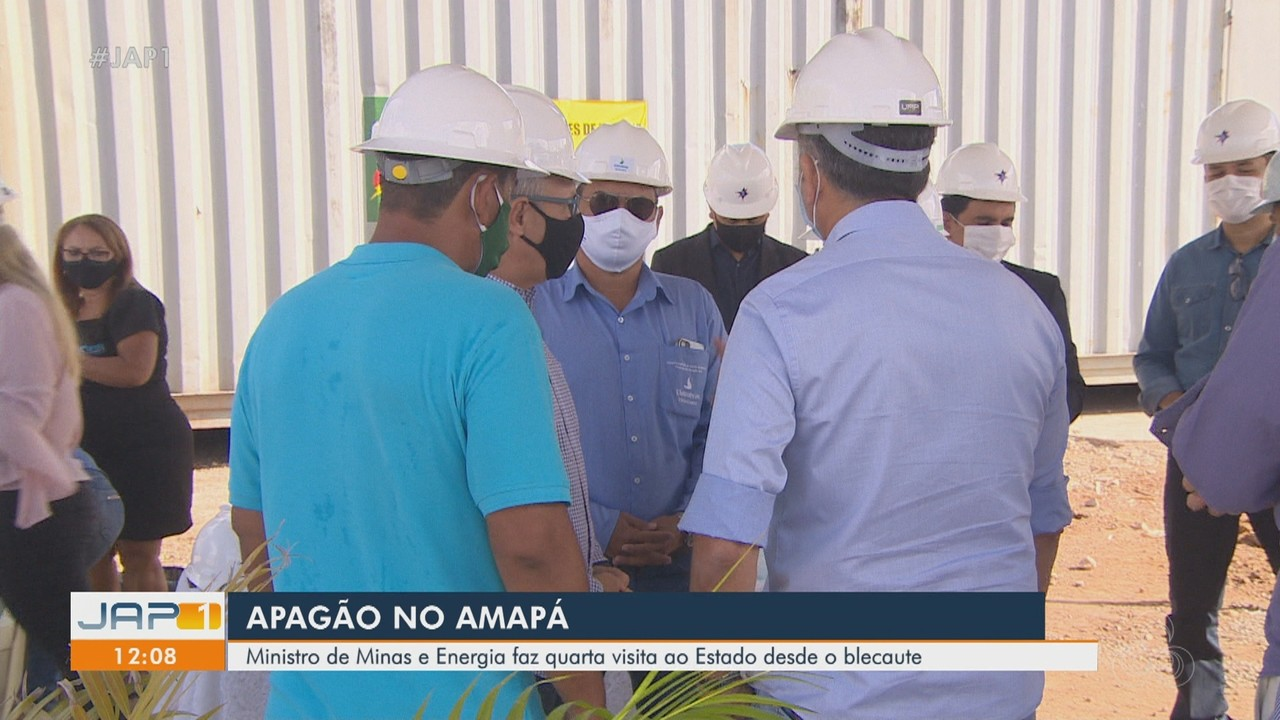 Ministro de Minas e Energia faz quinta visita ao Amapá desde o apagão