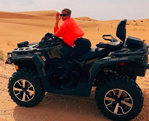 A modelo Sofia Richie de férias na Arábia Saudita (Foto: Instagram)