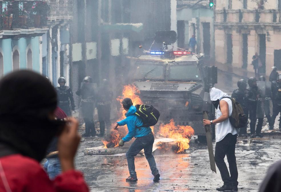 Equador — Foto: REUTERS/Ivan Castaneira