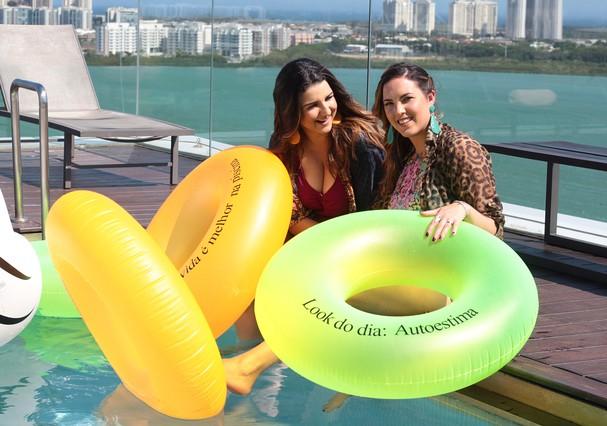 Joana Cannabrava e Carla Paredes (Foto: Reprodução )