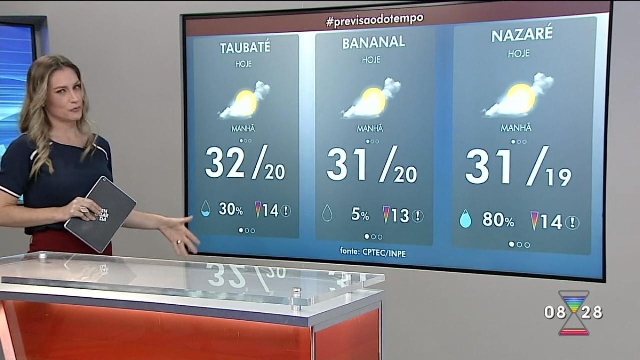 Confira previsão do tempo para esta quinta-feira
