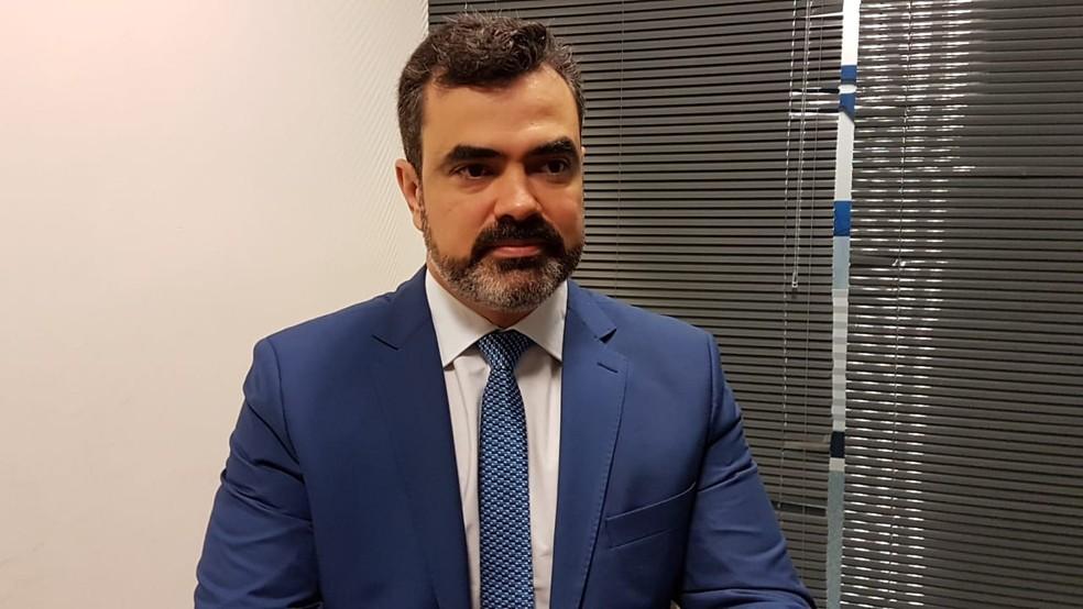 Luciano Flores de Lima assumiu a Superintendência da PF em Curitiba — Foto: Alana Fonseca/G1