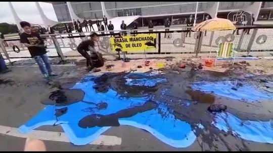 17 são detidos em protesto de ambientalistas no Planalto