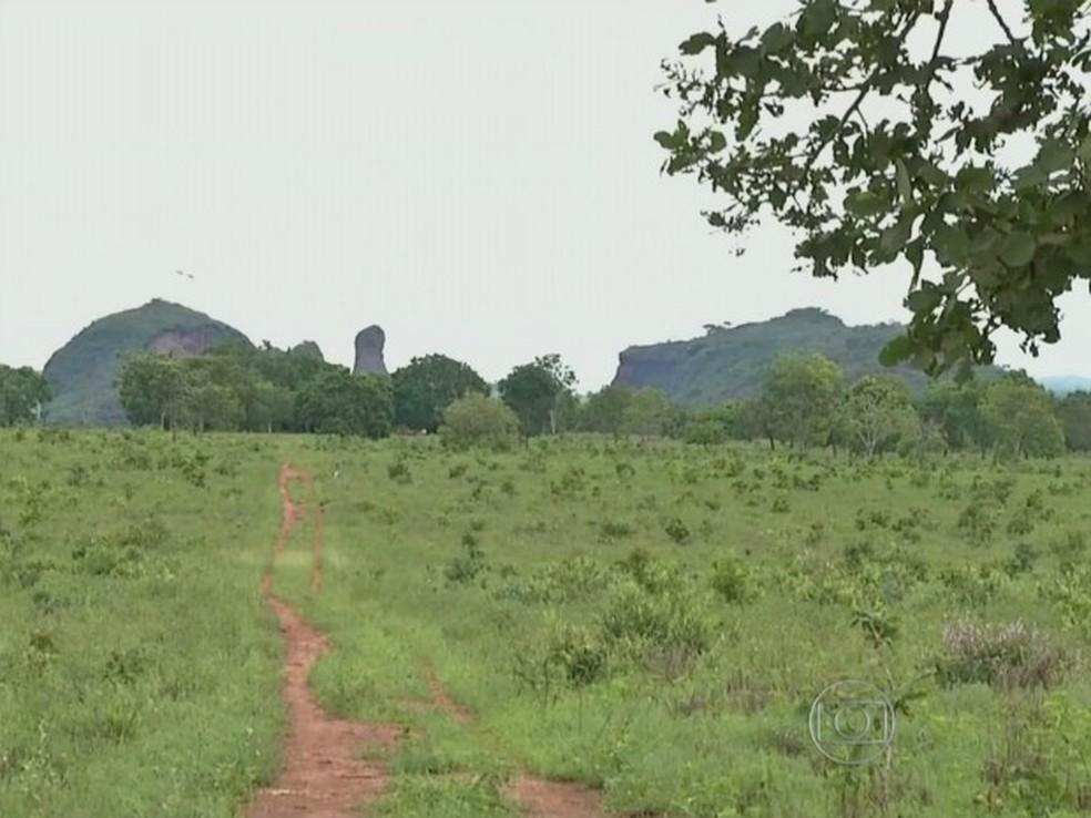 Terra indígena de Jarudore é disputada por bororos e posseiros há mais de cinquenta anos, desde criação de distrito de Poxoréu sobreposto às terras. — Foto: Reprodução/Globo Rural