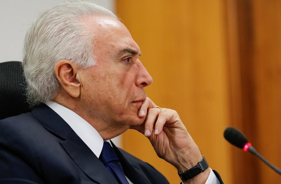 O presidente Michel Temer (Foto: Marcos Corrêa/PR)