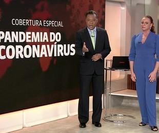 Cobertura da GloboNews | Reprodução