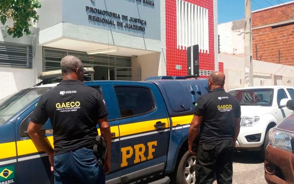 Operação Carro Fantasma foi deflagrada em 21 de novembro (Foto: Divulgação/MP-BA)