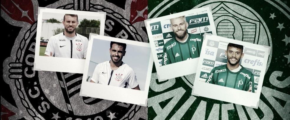 176df07c7929b Corinthians e Palmeiras estão diferentes do último Dérbi  veja o que ...