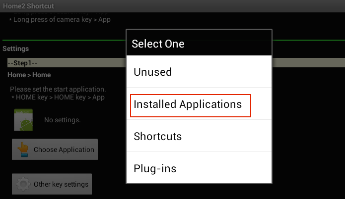 Escolhendo a opção Installed Applications (Foto: Reprodução/Edivaldo Brito)