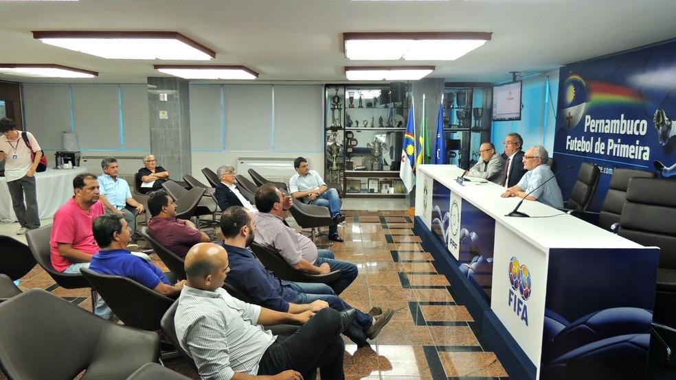 Federação Pernambucana divulga tabela da primeira fase do Pernambucano 2018 (Foto: Rômulo Alcoforado)