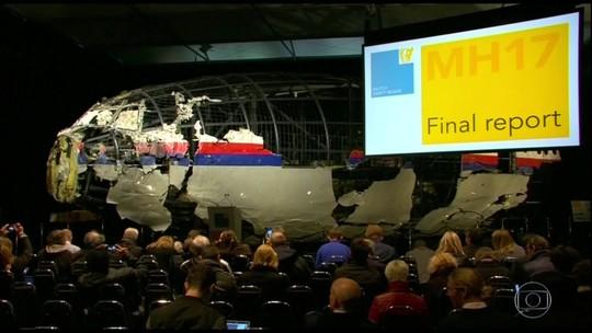 Quatro pessoas são acusadas de envolvimento na queda do voo MH-17 da Malaysian Airlines