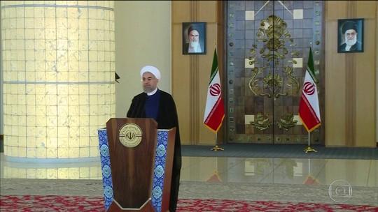 Trump e presidente do Irã trocam ameaças após EUA saírem de acordo