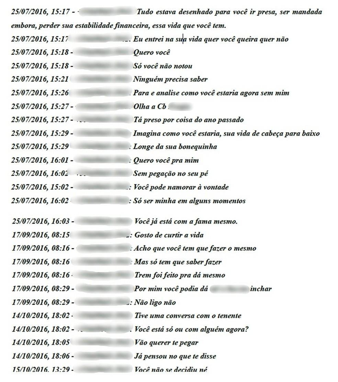 Assédios ocorreram por quase oito meses pelo WhatsApp (Foto: Divulgação)