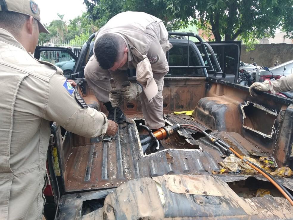 Mais de 280 kg de drogas foram apreendidos — Foto: TVCA/Reprodução