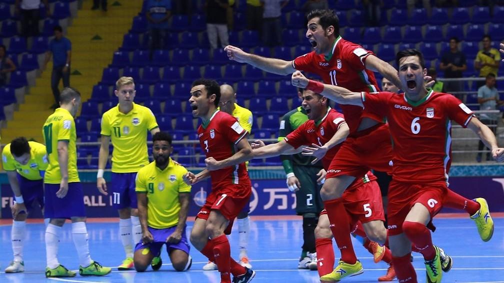 Na última Copa do Mundo, Brasil perdeu para o Irã nas oitavas de final — Foto: Getty Images/Fifa