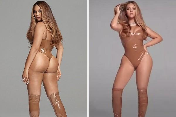 A cantora Beyoncé lançando nova coleção de sua marca de roupas (Foto: Instagram)
