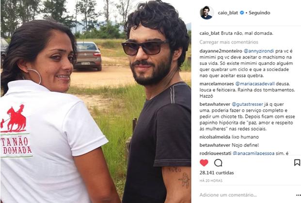Caio Blat (Foto: Reprodução/Instagram)