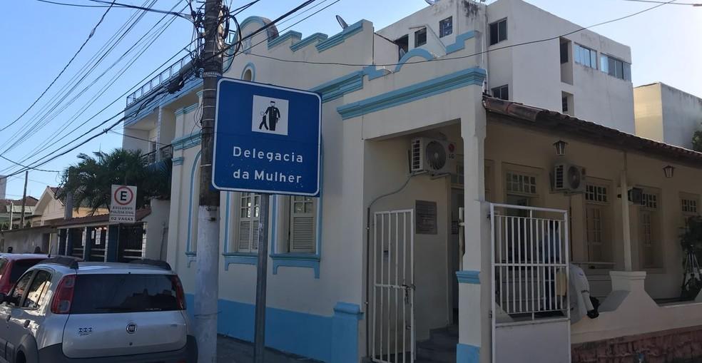 Delegacia da Mulher, em Vila Velha (Foto: Leandro Tedesco/TV Gazeta )
