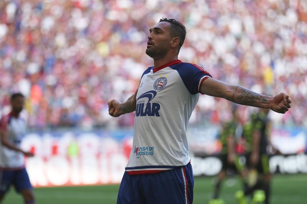 Gilberto marcou seis vezes em agosto — Foto: WILL VIEIRA/RAW IMAGE/ESTADÃO CONTEÚDO