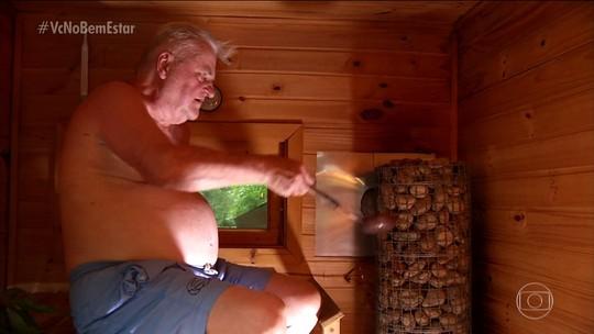 Como a sauna pode ajudar a sua saúde