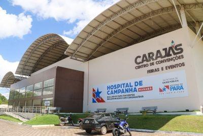 Hospital de Campanha de Marabá tem funcionamento prolongado por mais 30 dias