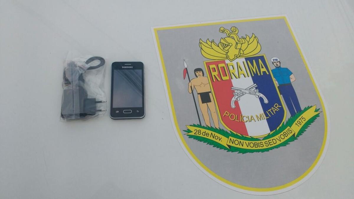 Golpista é preso em Boa Vista após vender placa de cerâmica dentro de caixa como se fosse celular