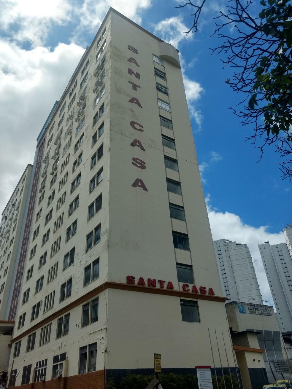 Doações feitas por apoiadores de Bolsonaro devem viabilizar um novo CTI na Santa Casa de Misericórdia de Juiz de Fora — Foto: Roberta Oliveira/G1