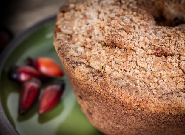 bolo-de-pinhão (Foto: Divulgação)