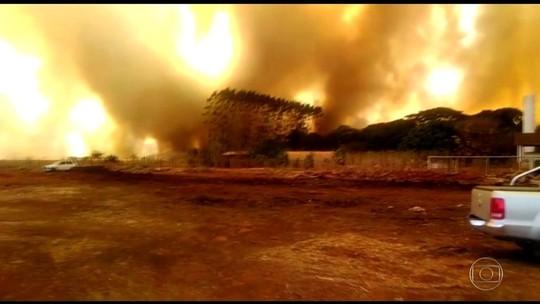 Nº de queimadas no Brasil até agosto é o maior em 7 anos