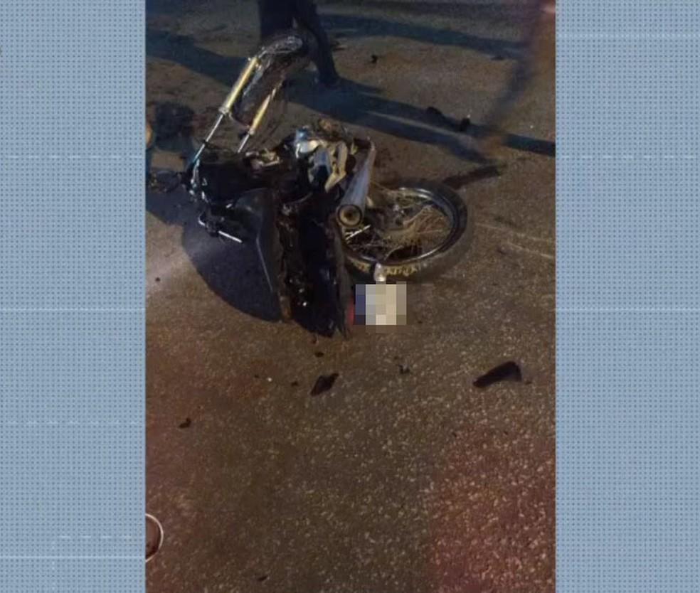 Com sinais de embriaguez, empresário é preso após atropelar dois motoboys e matar um deles na BA  — Foto: Reprodução/TV Bahia