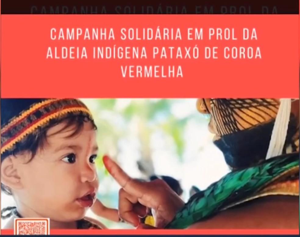 Campanha contou com apoio de Cristiane Torloni e Lazaro Ramos — Foto: Reprodução / TV Santa Cruz