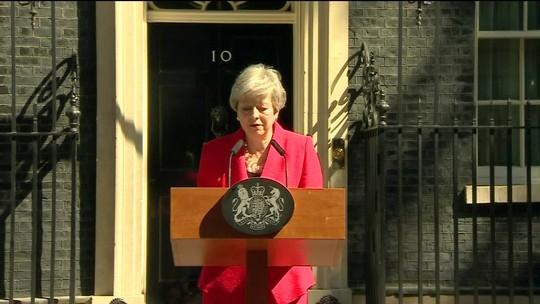 Com renúncia da premiê britânica, candidatos à sucessão iniciam campanha