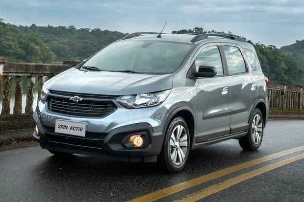 Chevrolet Spin 2021 (Foto: Divulgação)